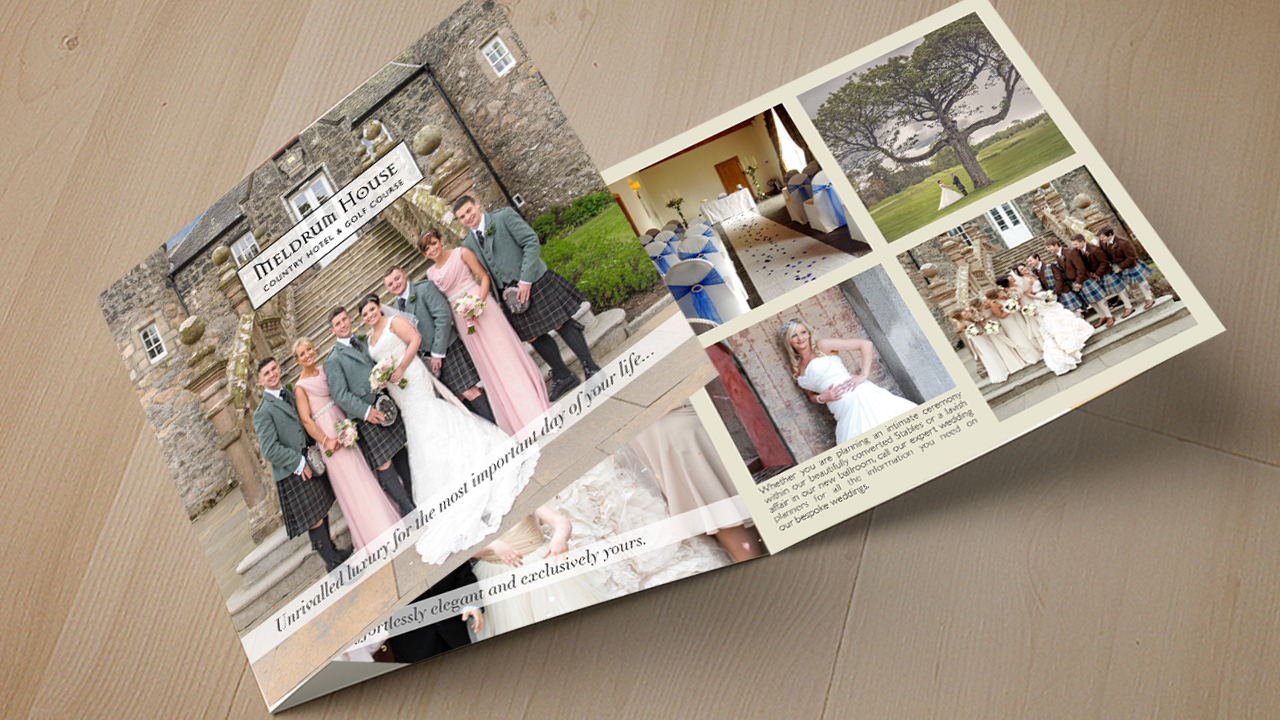 Design Hotel Wedding Brochure
