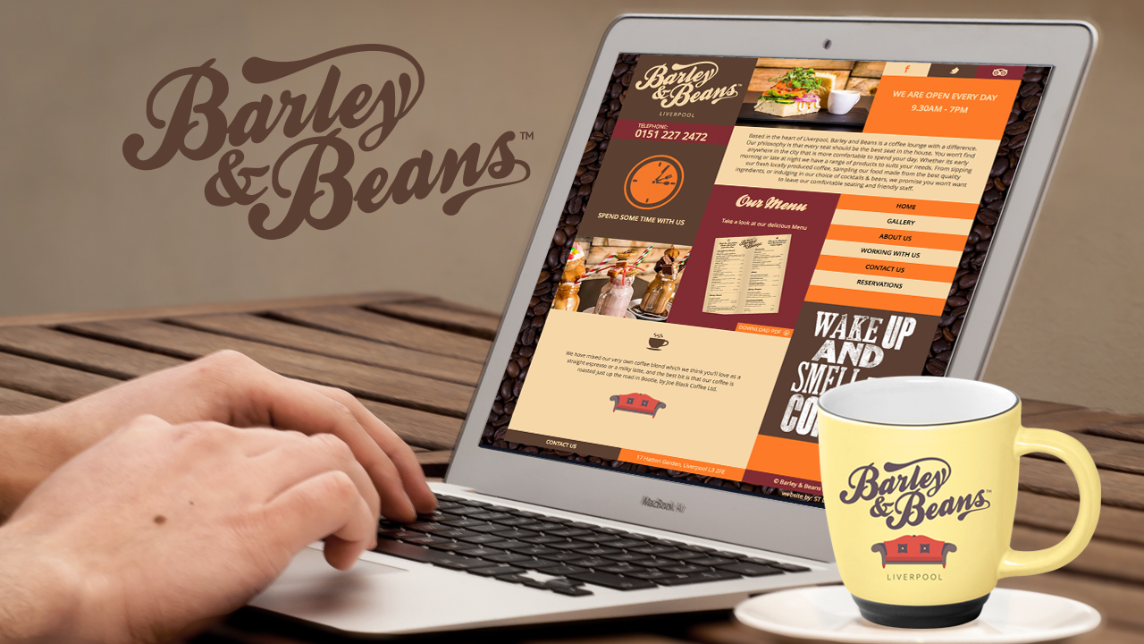 Logo and website design Restaurant